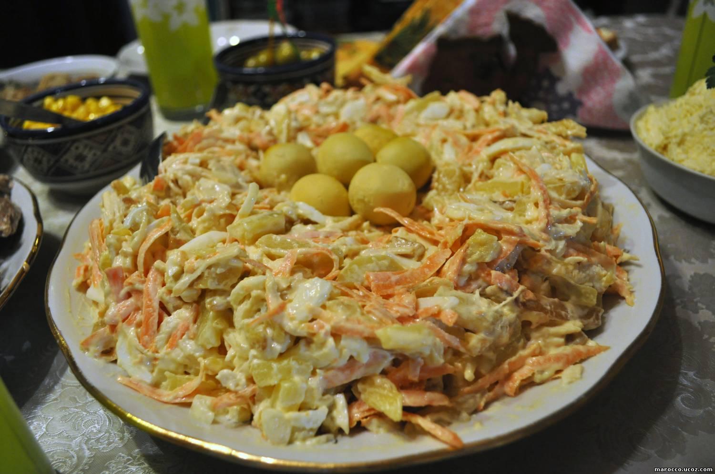 Салат ландыш пошаговый рецепт