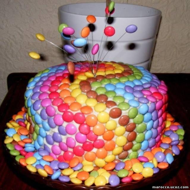 Детский торт на день рождения фото